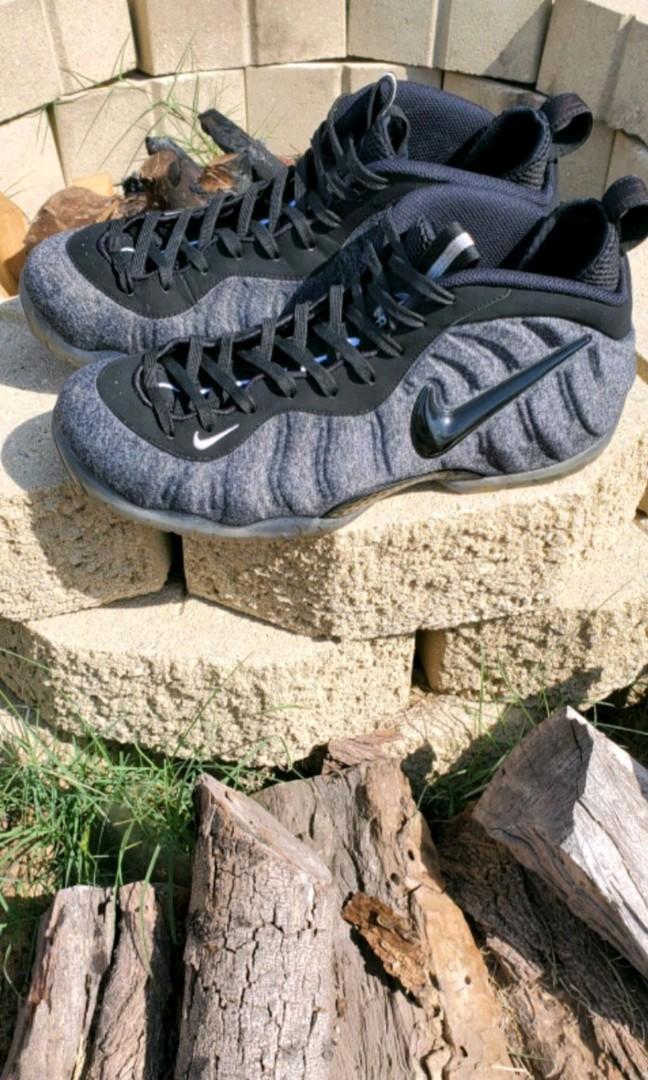Nike foamposite pro wool fleece