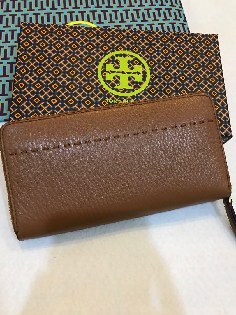 (Raya clearance)Authentic ready Stock McGraw brown wallet purse calf leather