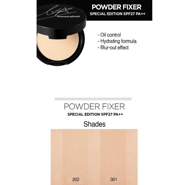 (READY-STOCK) MOONSHOT Lisa's Pick Powder Fixer Special Edition - 2 Shades