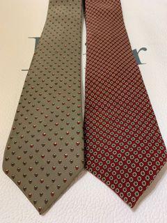 Richel Grey / Brick Red Tie 灰色領呔 磚紅色領呔 ($80 Last 1)