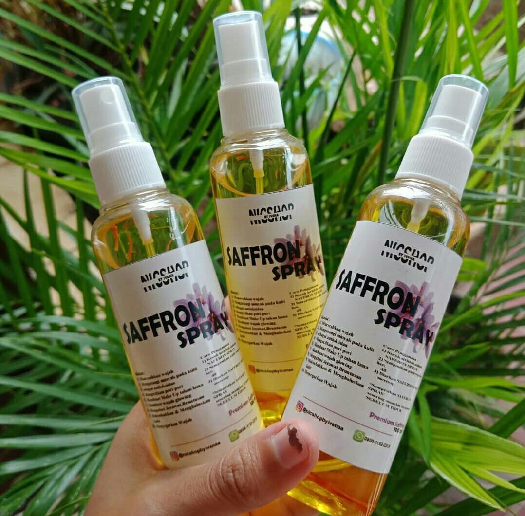 Safron Spray Kesehatan Kecantikan Kulit Sabun Tubuh Di Carousell