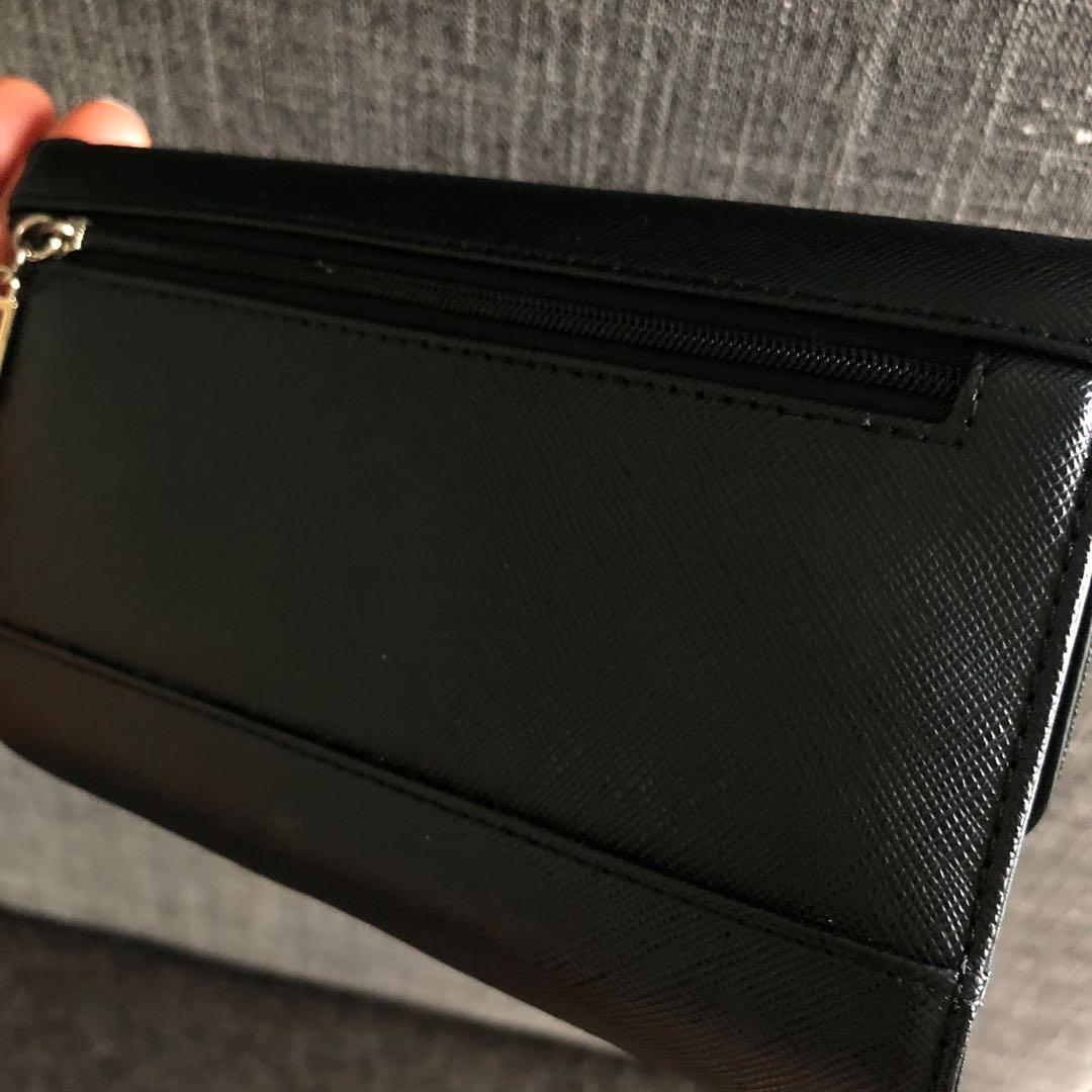Sleek Black Guess Wallet