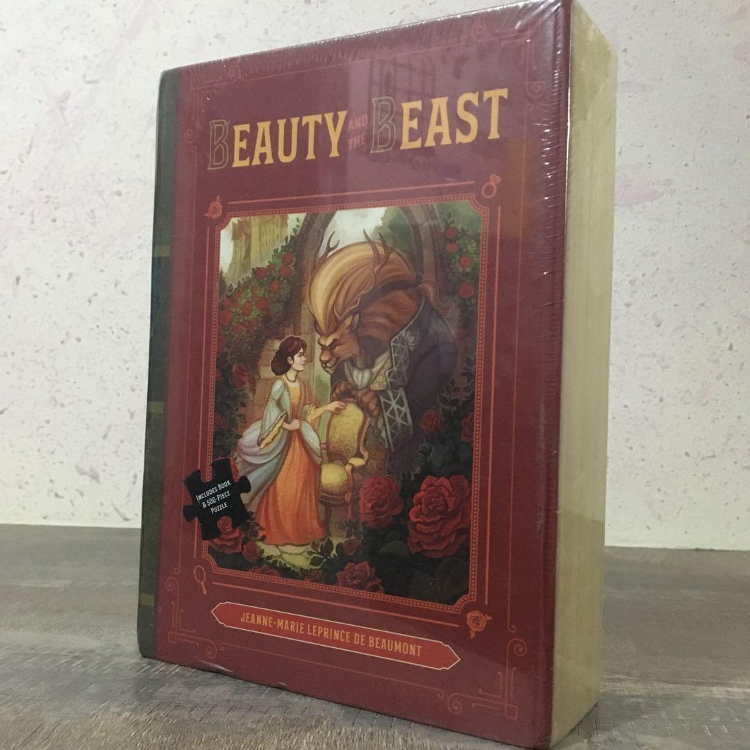 TP/Box Set (book/500 puzzle masterpieces) • Beauty and the Beast • Jeanne-Marie Leprince de Beaumont