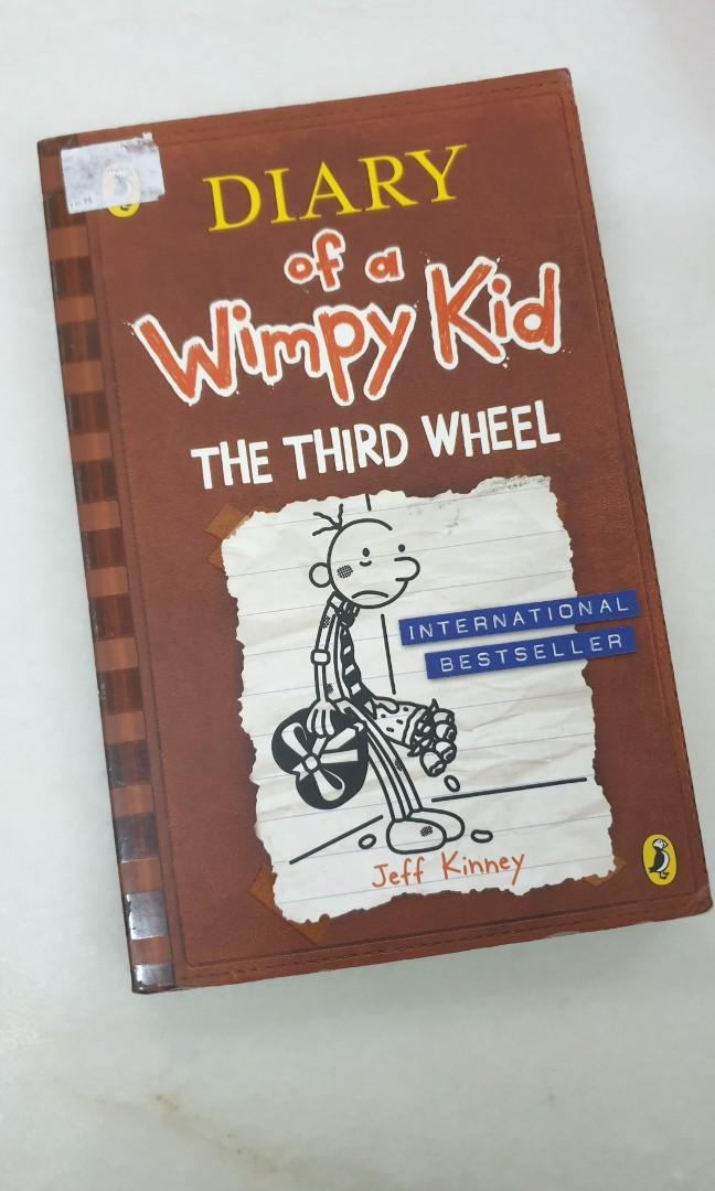 Wimpy Kid The Third Wheel Books Stationery Books On Carousell