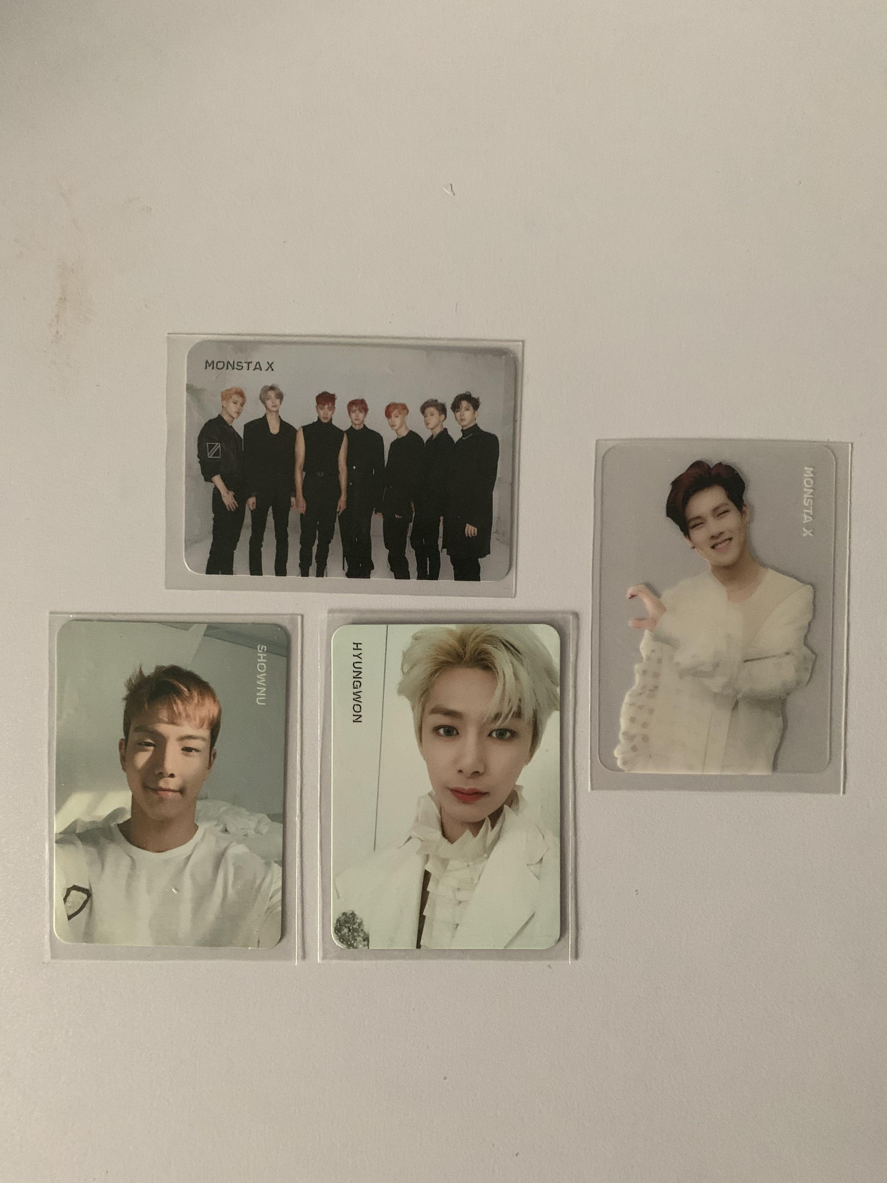 (WTS) Monsta X photocard from Are You There and We Are Here album