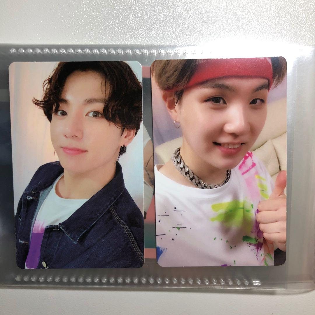 [WTT/WTS] BTS jungkook and yoongi 5th Muster DVD Photocard