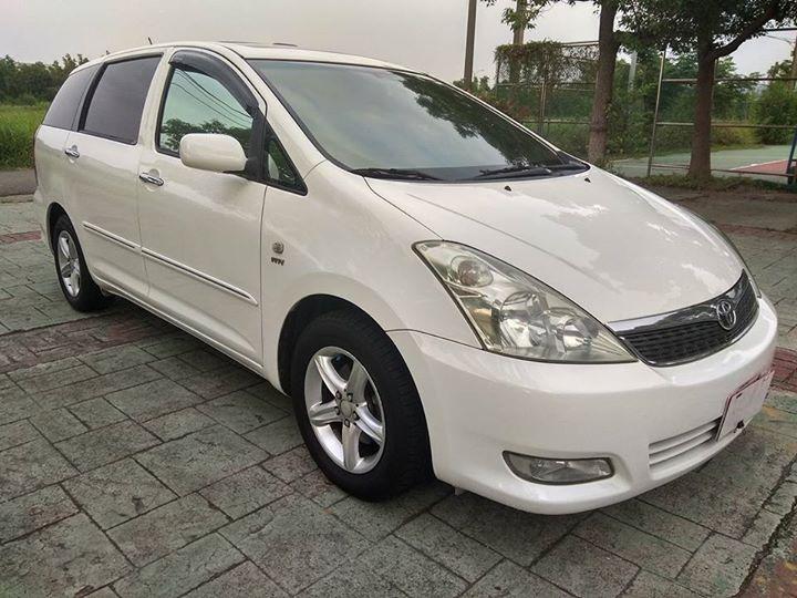 2005 Toyota WISH 2.0 白