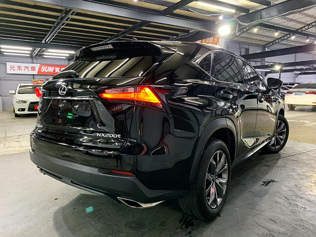 2016 總代理 Lexus NX200t F-Sport AWD 頂級版