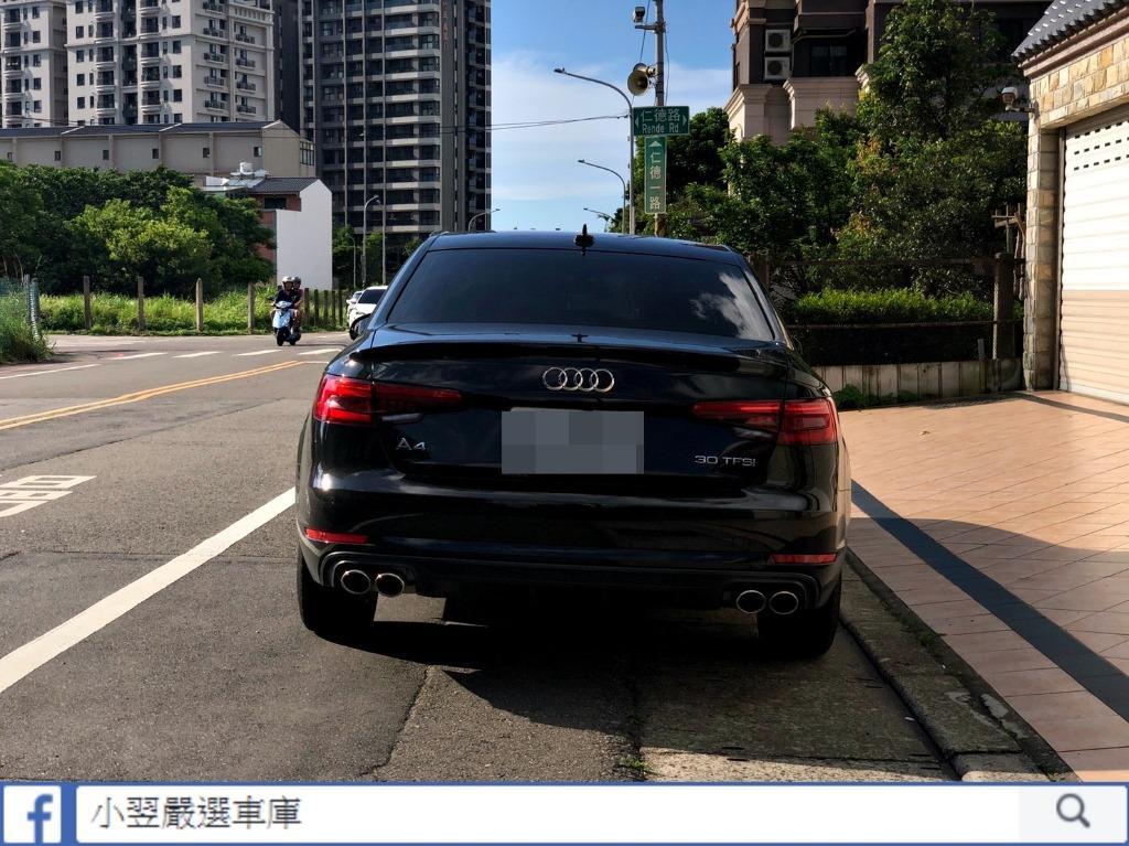 《2017式 Audi A4 Sedan 30 TFSI Luxury》