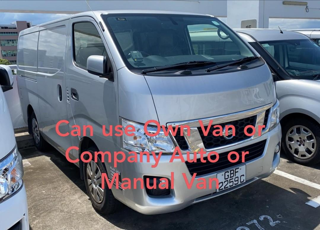 5/6days Grocery Delivery Driver - Auto/manual van
