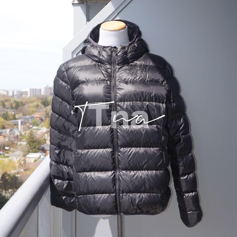 Aritzia TNA The Little Puff Puffer Jacket in Black Size L