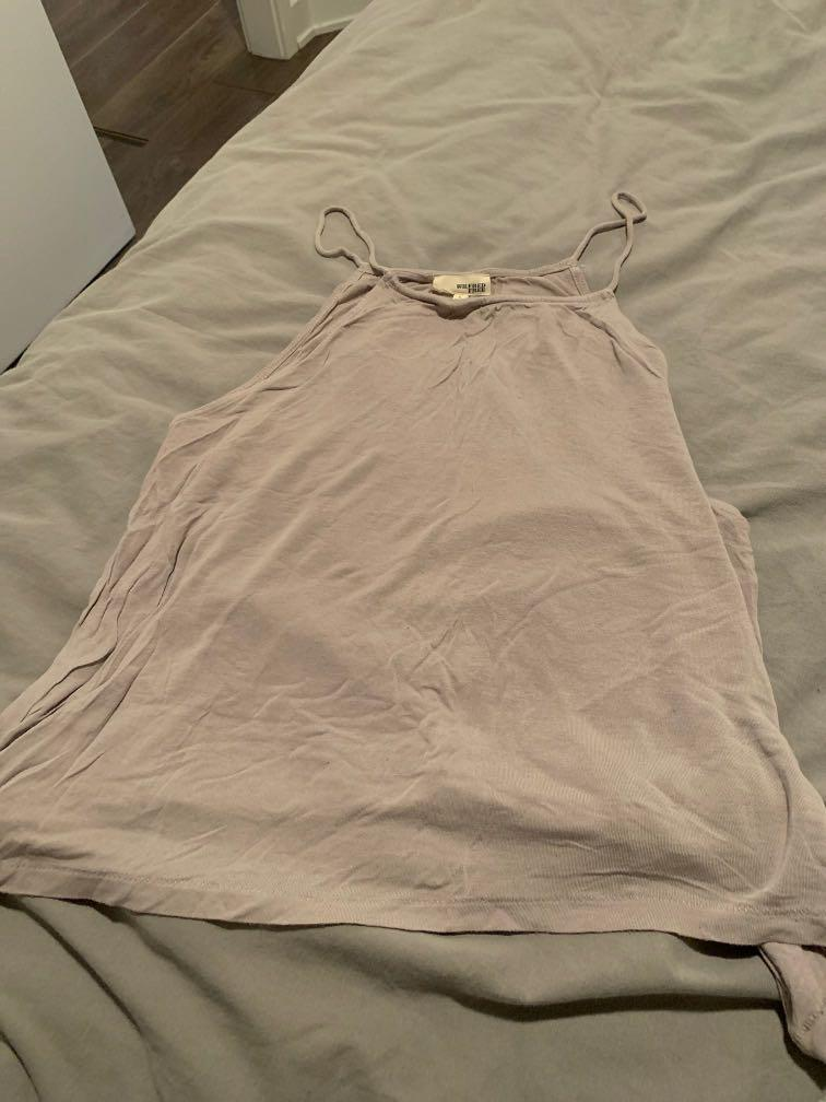 Artizia Wilfred free grey tank top size L fits S-M baggy