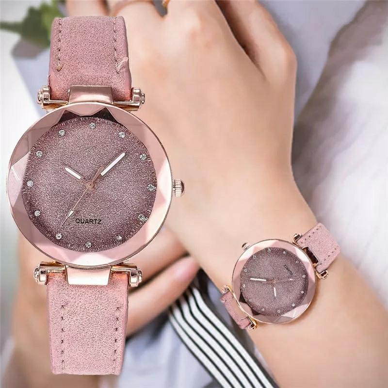 Beautiful Luxury Wrist Watch For Women Girls Quartz