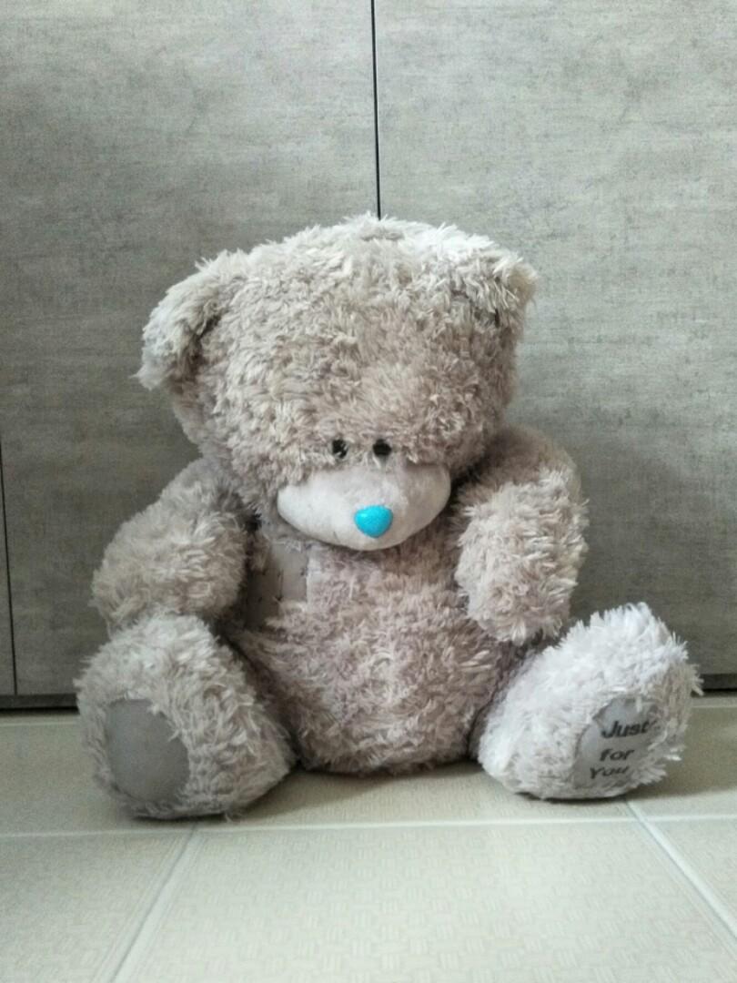 Hay Hay Chicken Stuffed Animal, Big Fluffy Teddy Bear Babies Kids Toys Walkers On Carousell