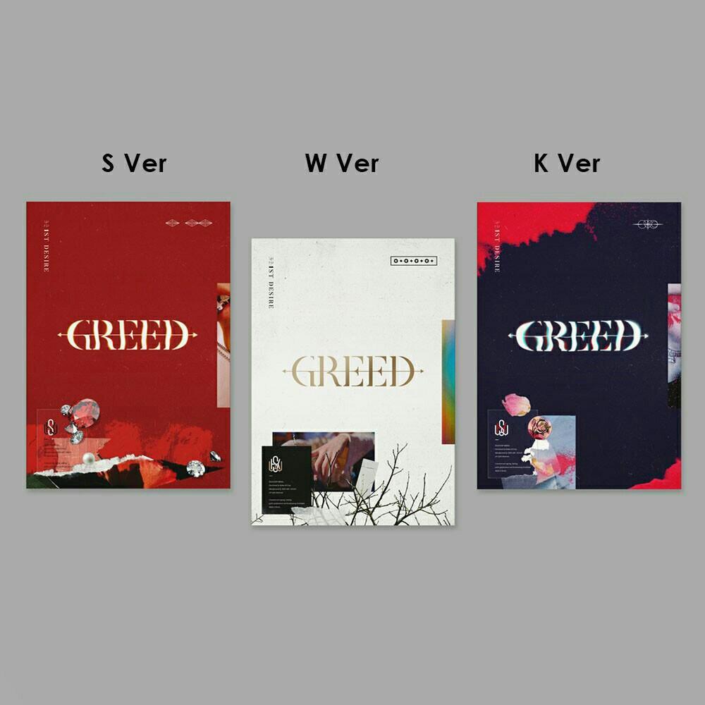 (choose ver) KIM WOO SEOK - 1st DESIRE GREED PRE ORDER woo seok up10tion