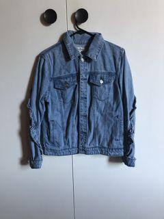 Detailed denim jacket