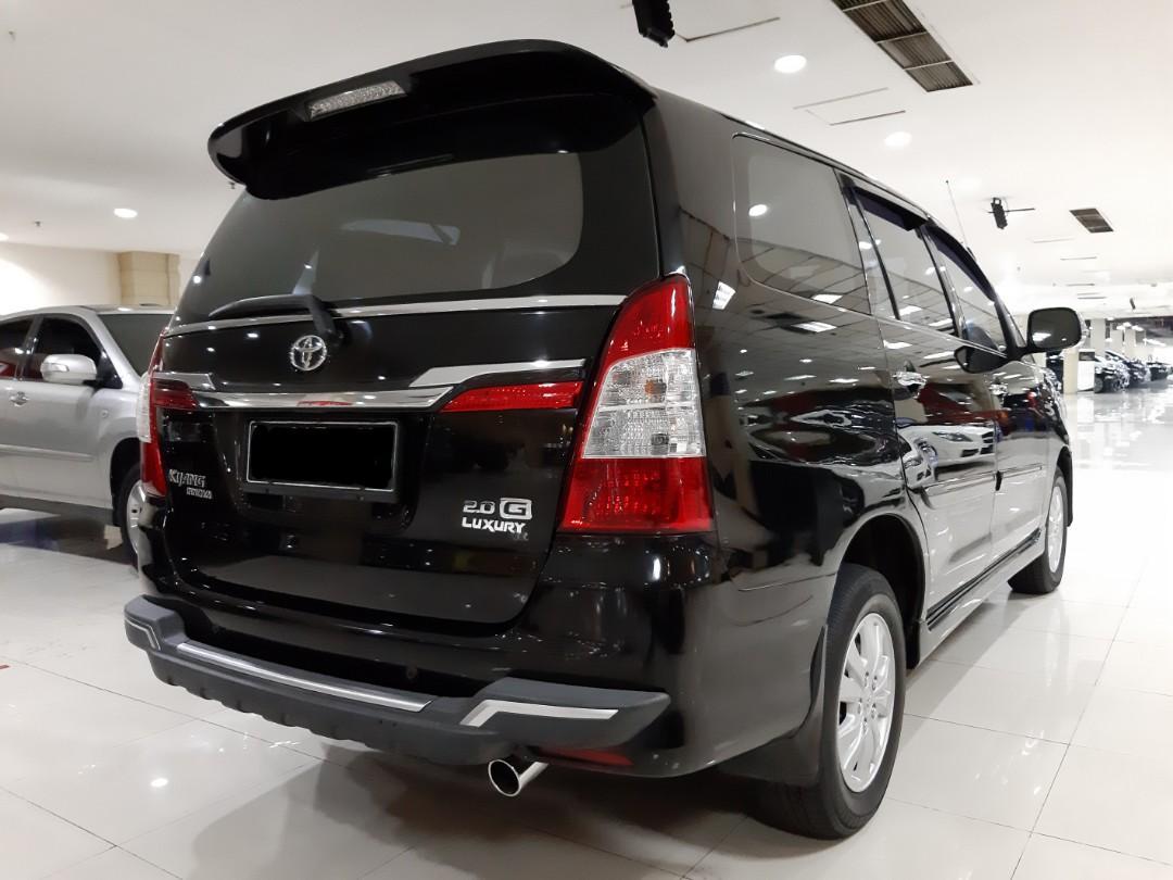 Di-Jual nego.th 2014.Toyota INNOVA 2.0 G-Luxury.Captain SEAT.Unit Kepemilikan Tangan Pertama dari BARU.Sangat Siap PAKAI. Nopol B-Dki,pajak hidup-pertahun 4,3juta