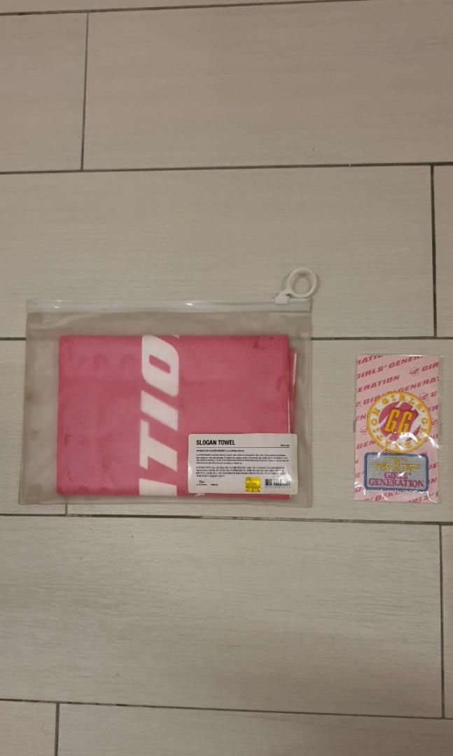 Girls Generation(SNSD) Girls & Peace Tour Concert Merchs