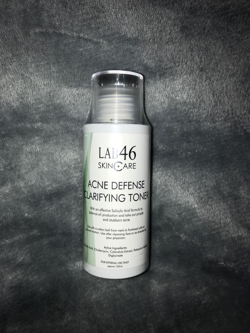 Lab 46 Acne Defense Clarifying Toner Health Beauty Skin Bath Body On Carousell