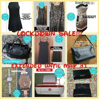 Lockdown Sale Extended!!!