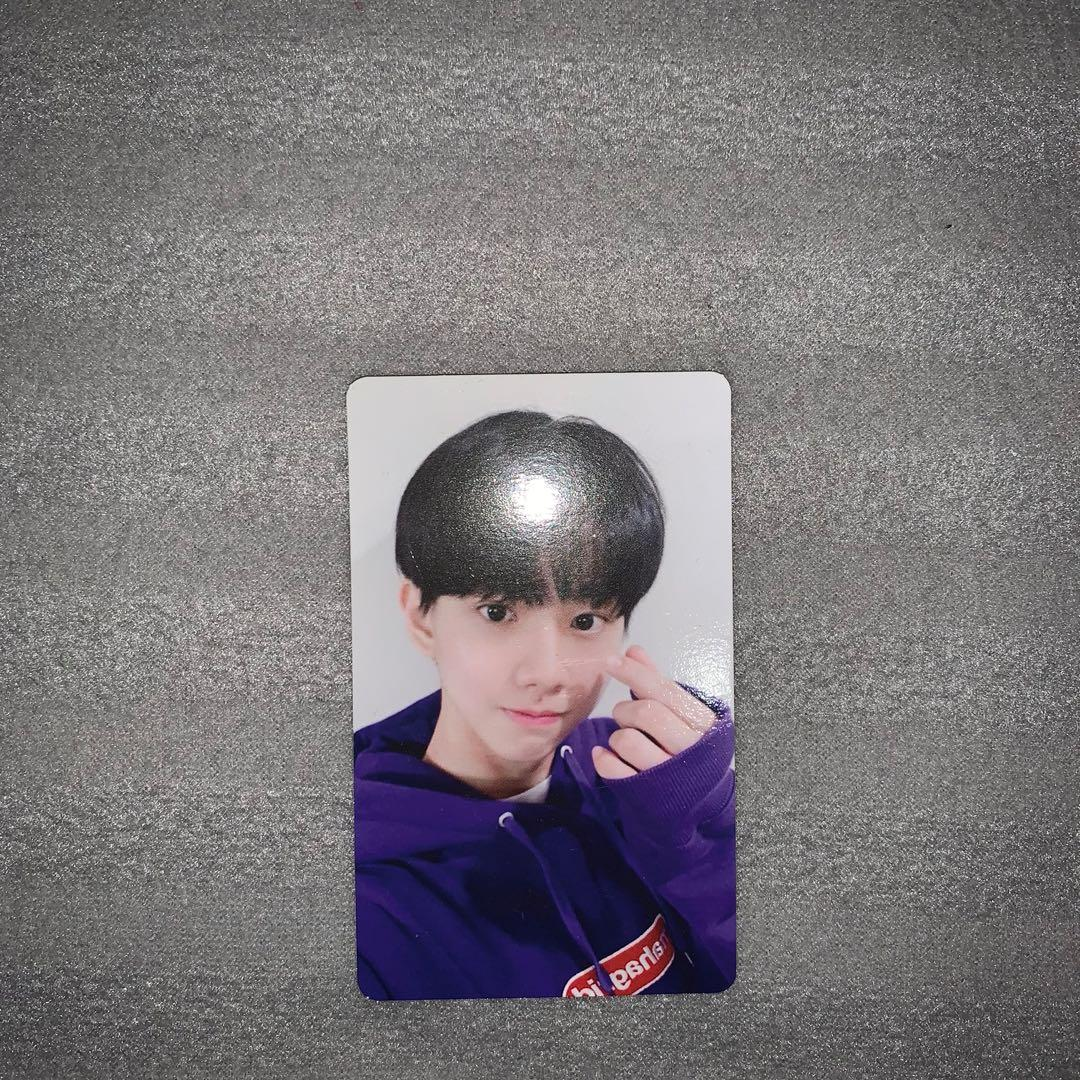 MCND Win (Bang Junhyuk) Official PC from Under Nineteen