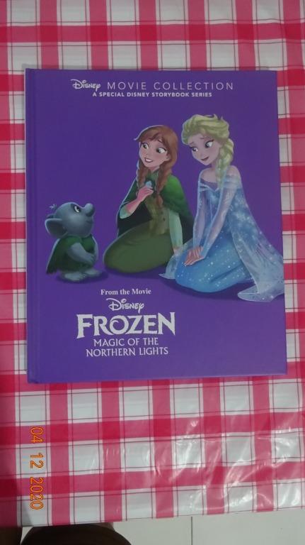 [NEW] Disney Movie Collection : Frozen Magic of the Northern Lights [Hardbound]