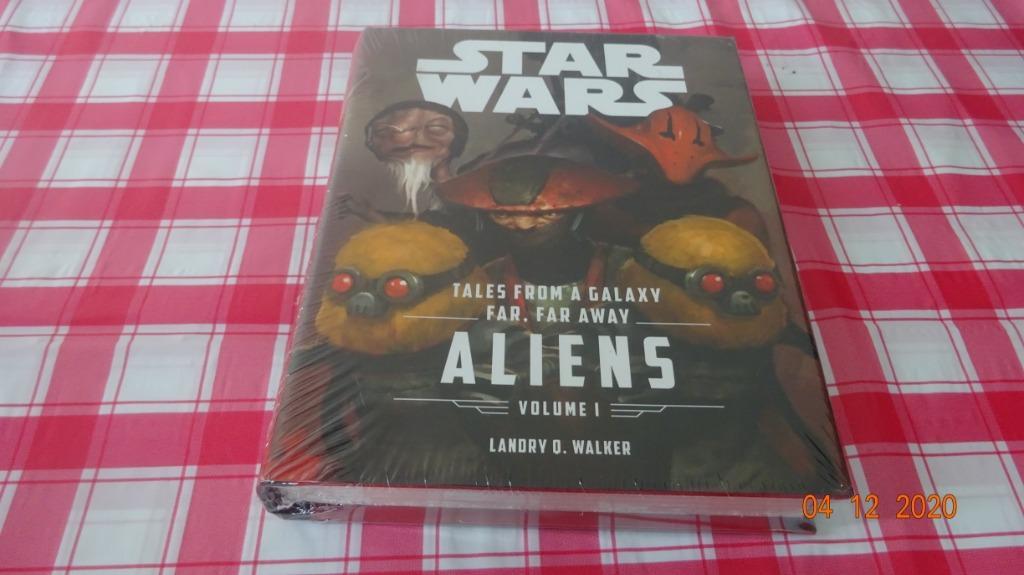 [NEW] Tales From a Galaxy Far, Far Away, Vol. 1: Aliens (Star Wars) - Landry Q Walker [Hardbound]