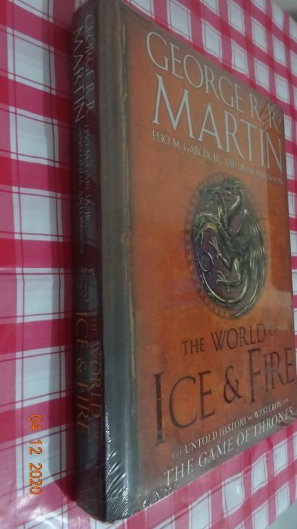 [New] The World of Ice and Fire : The Untold History of Westeros and the Game of Thrones - GRRM [Hardbound]