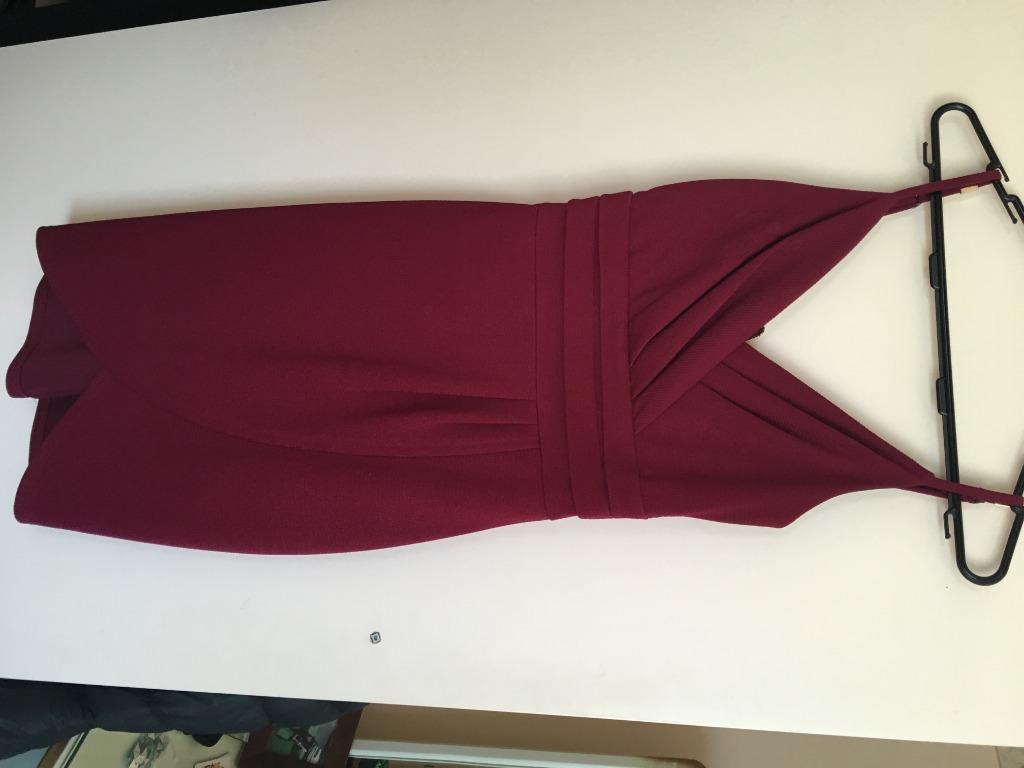 Pagani Burgundy Dress size 8