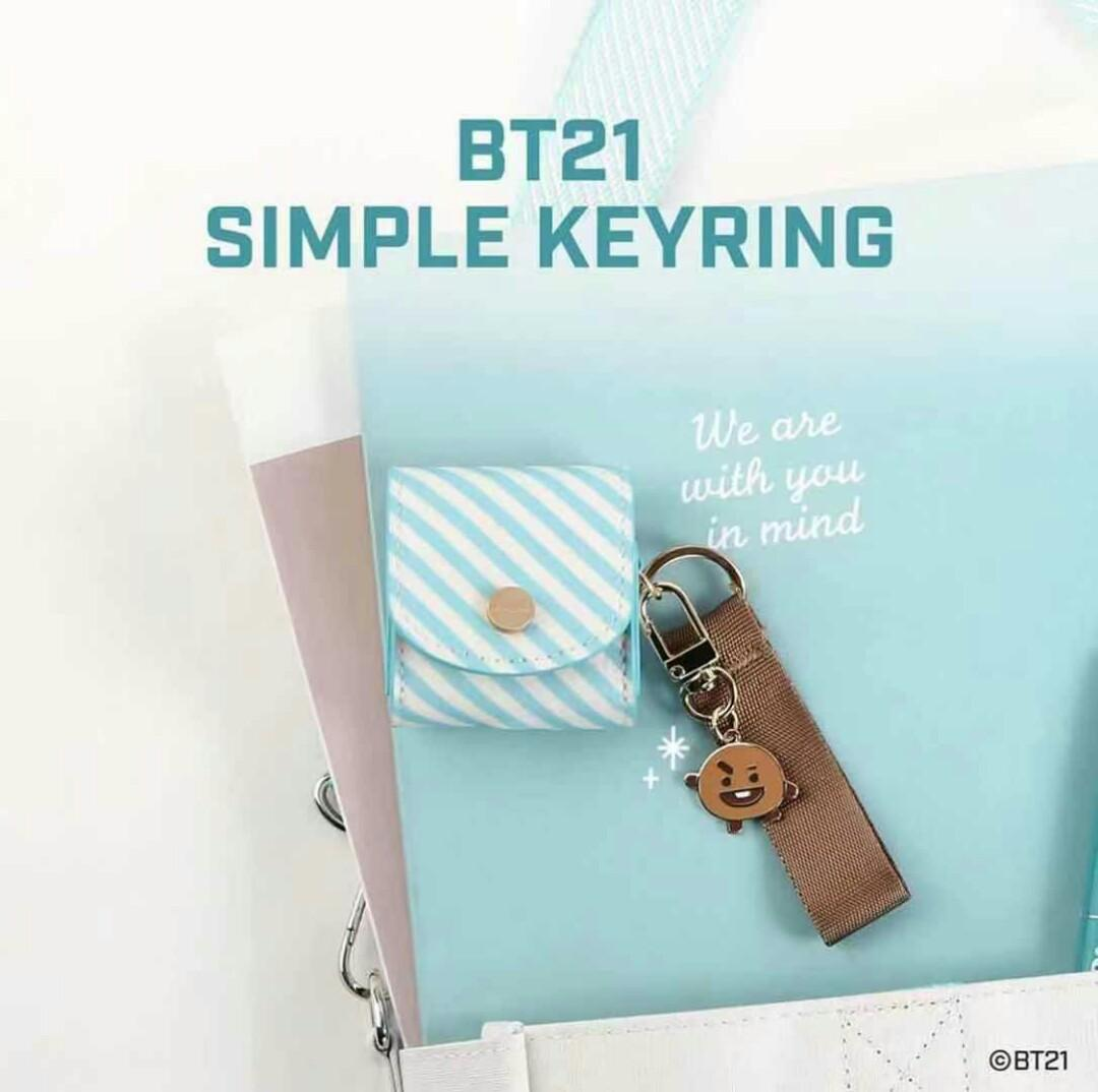 [Perorder]Monopoly X BT21(Simple Keyring/Lettering Eco Bag)