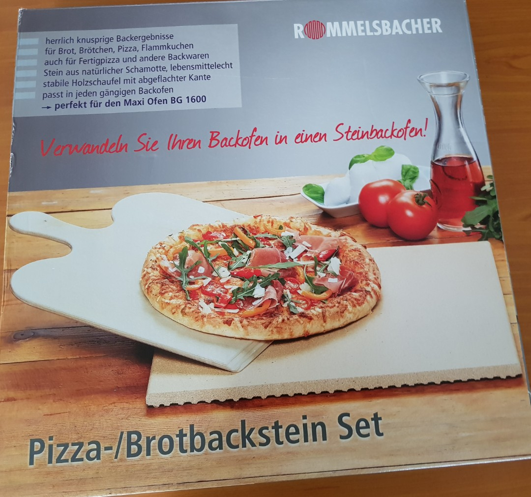 Pizza Bread Baking Stone Home Appliances Kitchenware On Carousell