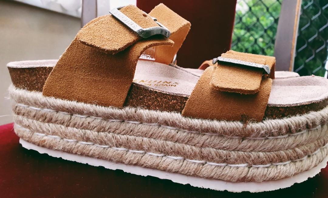 Platform Sandals Tika (Tan)