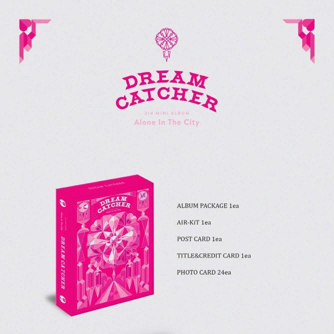 "[PREORDER] DREAM CATCHER MINI ALBUM VOL. 3 ""ALONE IN THE CITY"" KIHNO"