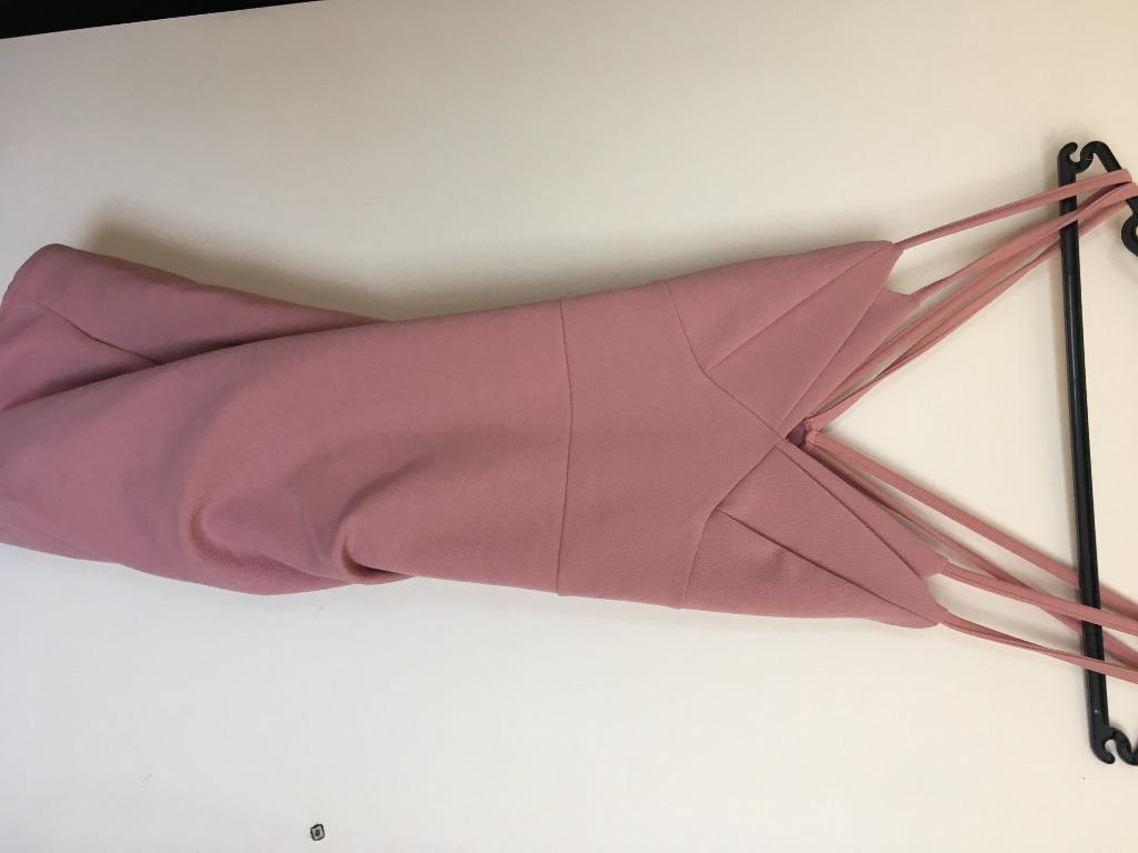 Pretty Little Thing Pink Dress size 8