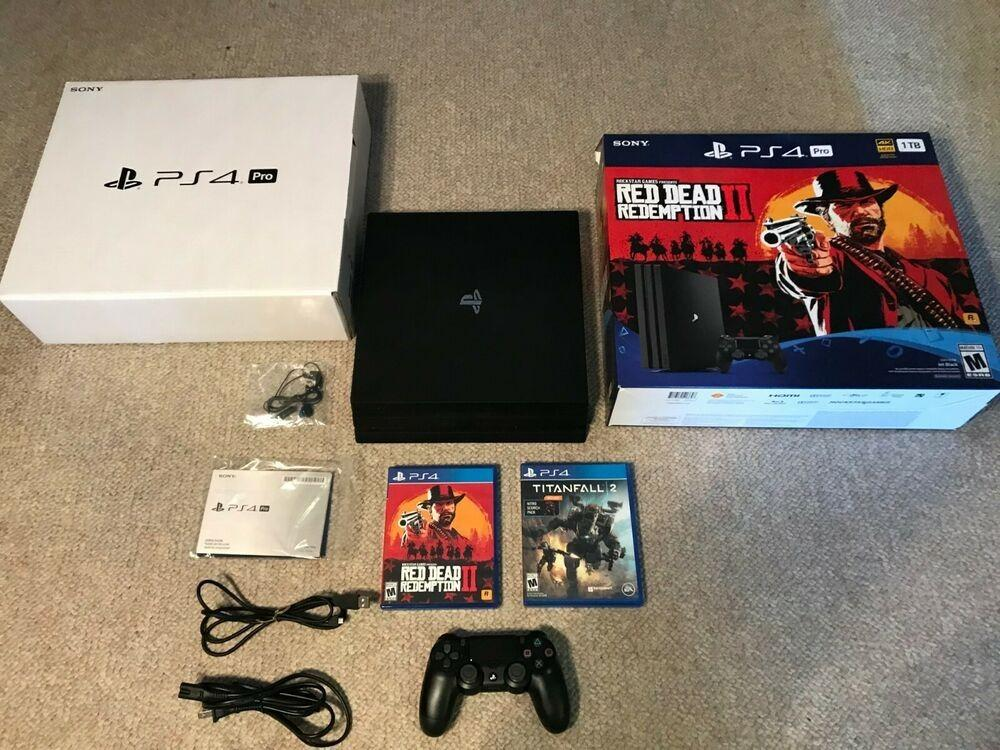 Ps4 Pro bundle New with 2 games