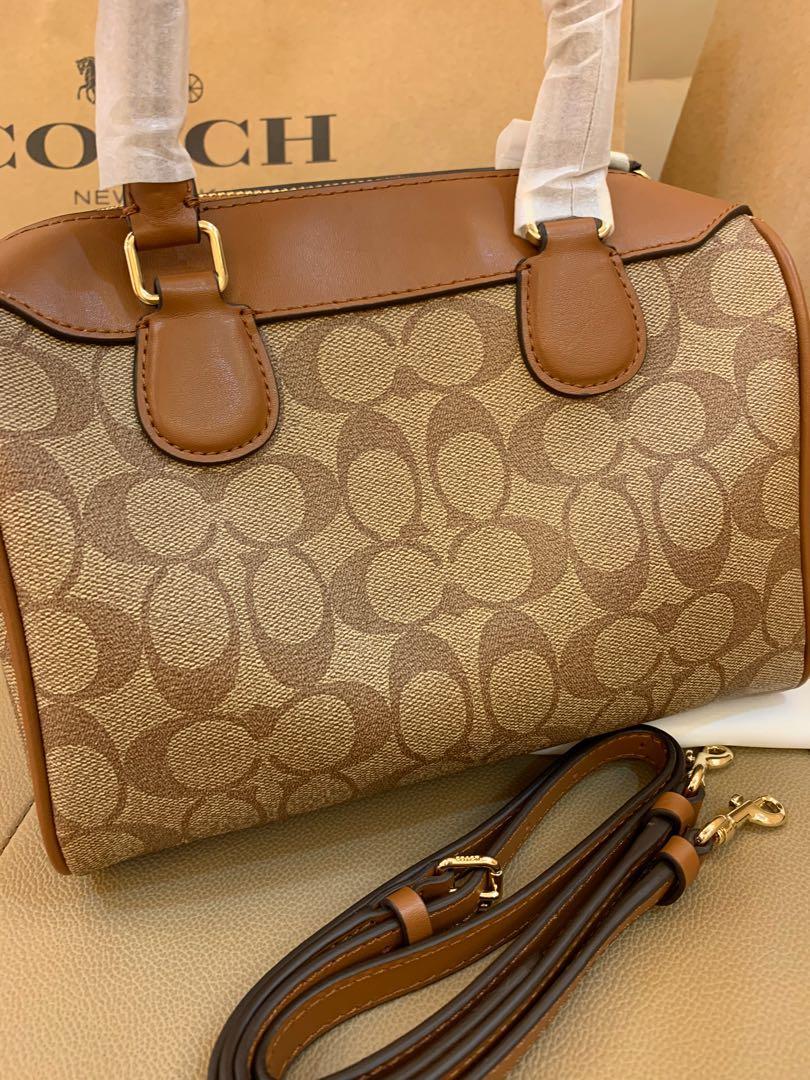 Ready Stock Authentic 32203 monogram Bennett crossbody sling bag handbag logo brown