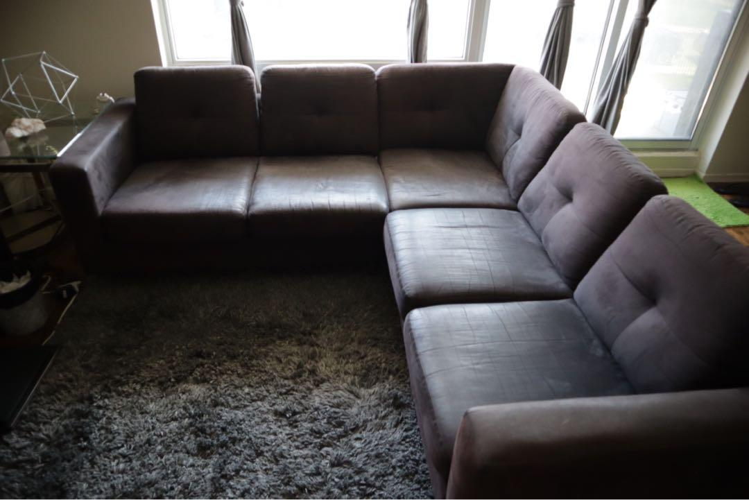 Selling an EQ3 Sectional sofa, the Salema