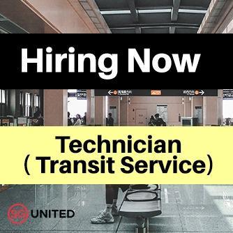 Technician ( Transit Service) 技术员(运输服务)#SgUnitedJobs