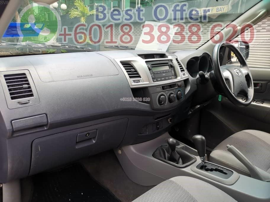 Toyota Hilux 2.5 4X4 AT 2010 No accident Blacklisted Pass Ori Body Interest Low