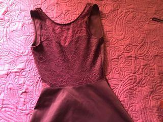 V-Back Lace Dress