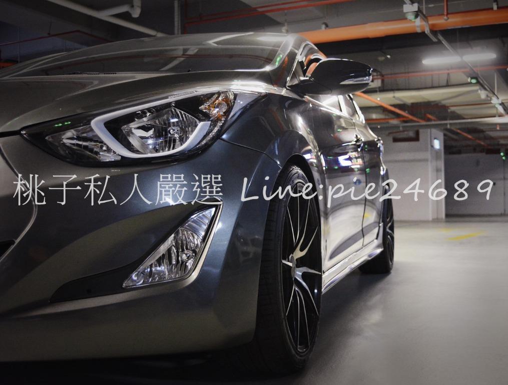 2017年 Elantra 1.8 鋼鐵灰 頂級 少跑 女用一手 漂亮車👍