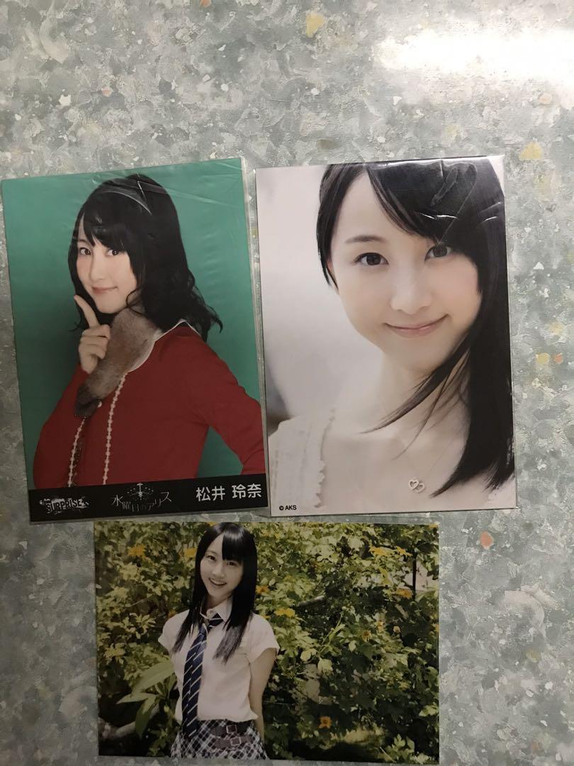 AKB48松井玲奈生寫