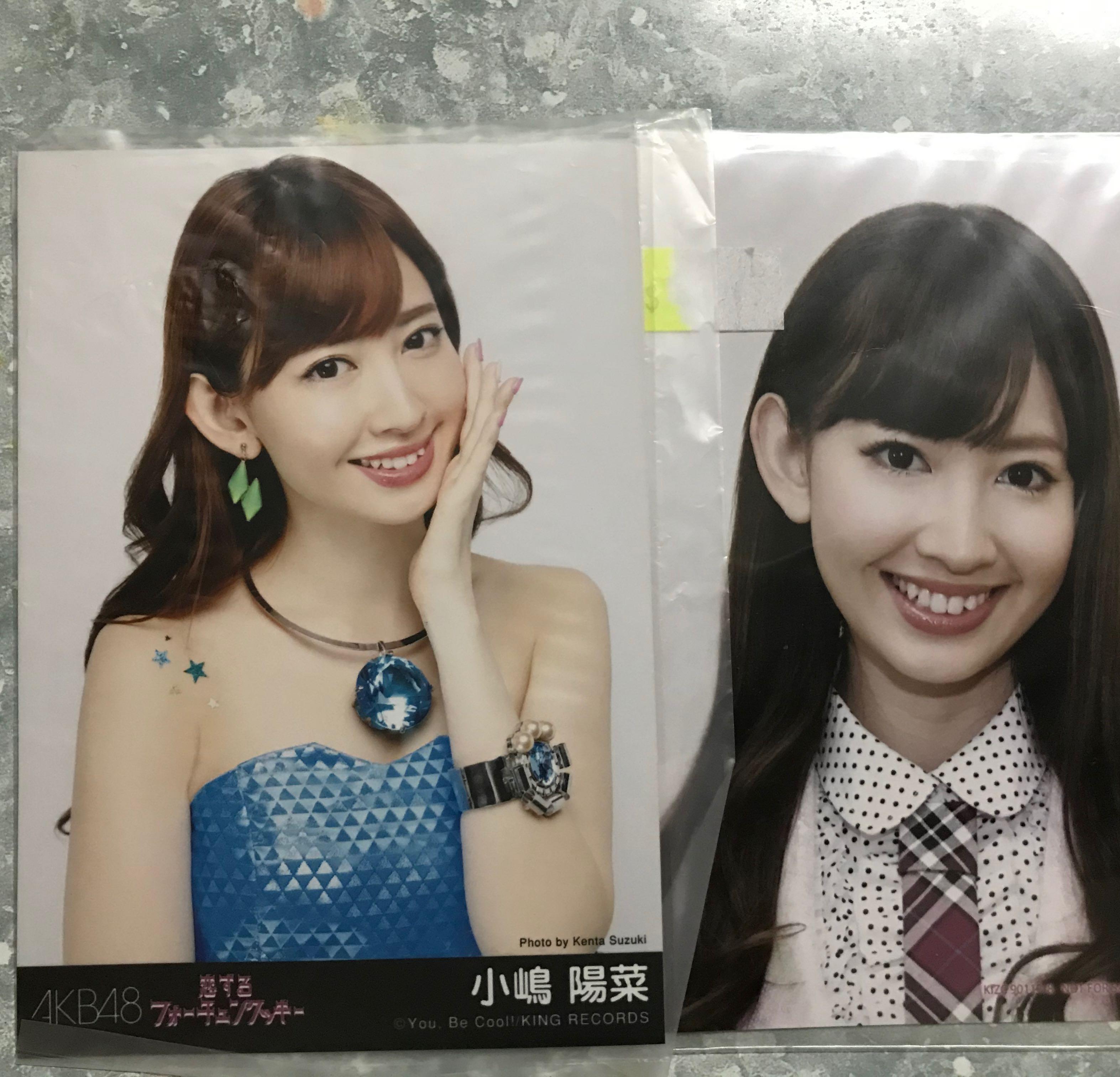 AKB48小嶋陽菜生寫
