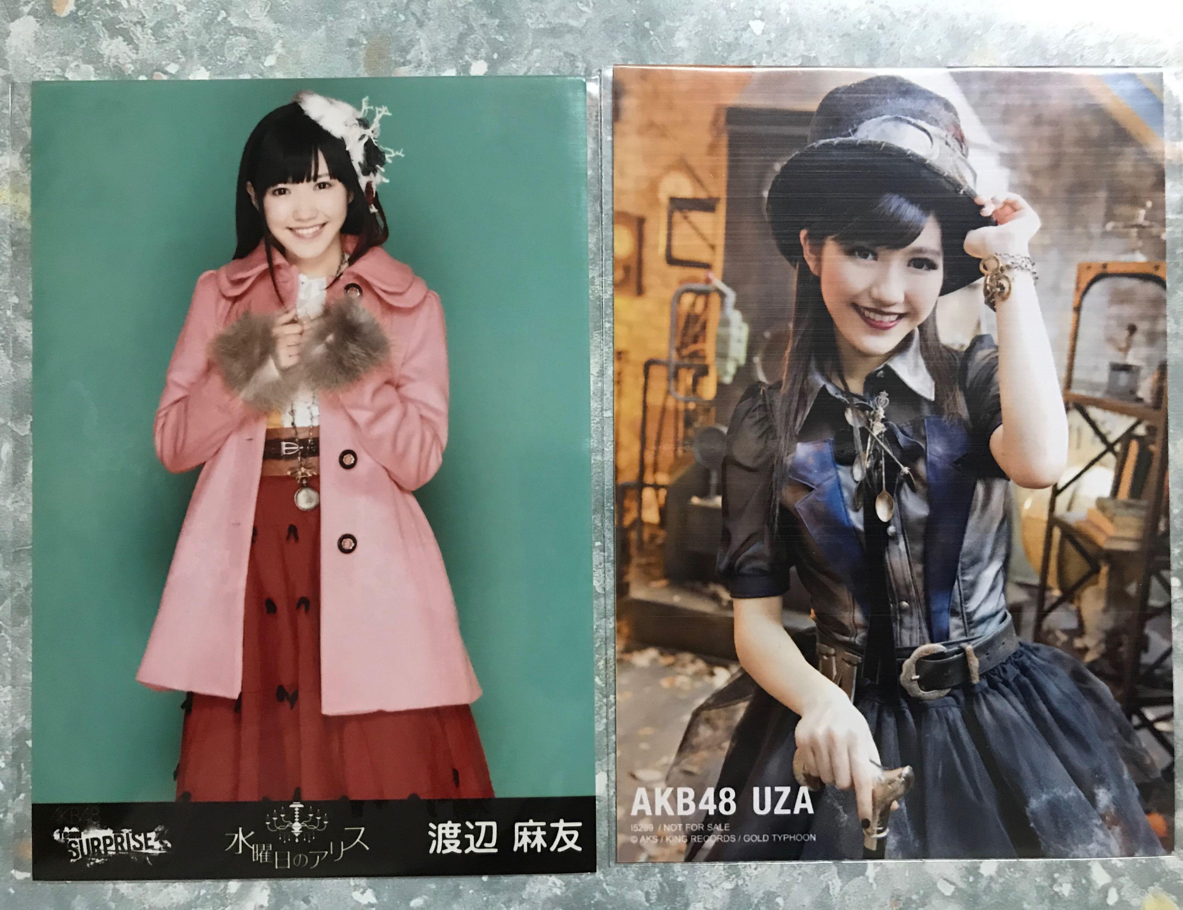 AKB48渡邊麻友生寫