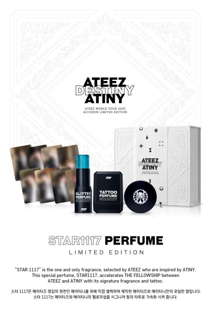 ATEEZ STAR1117 Perfume Limited Edition (loose items)