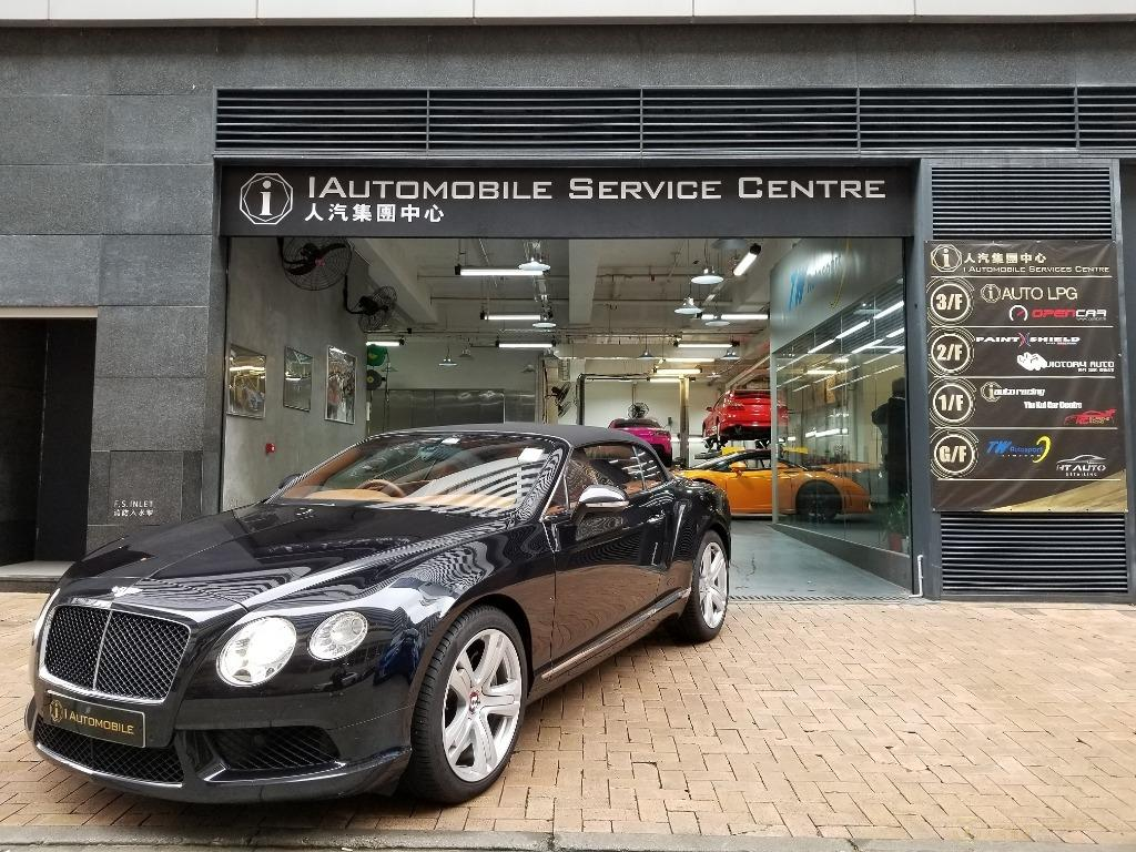 Bentley Continental V8 GTC