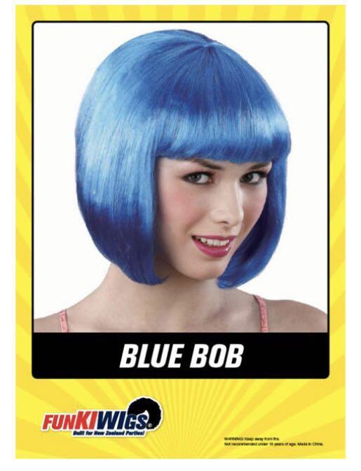Blue Bob (wig)