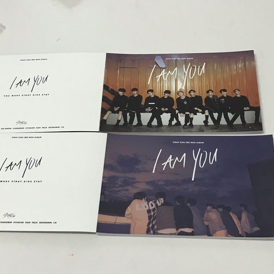 [Both for rm50] Stray Kids iamYOU official postcard set