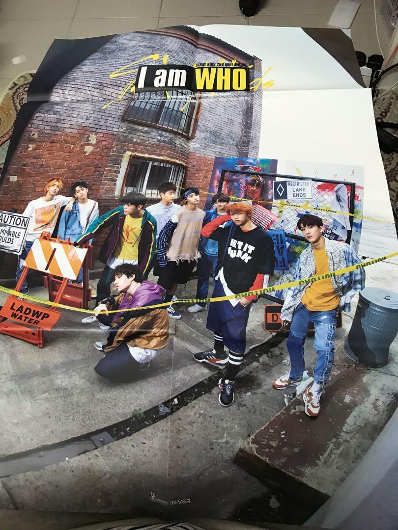[All for rm70] Stray Kids iamWHO official photobook