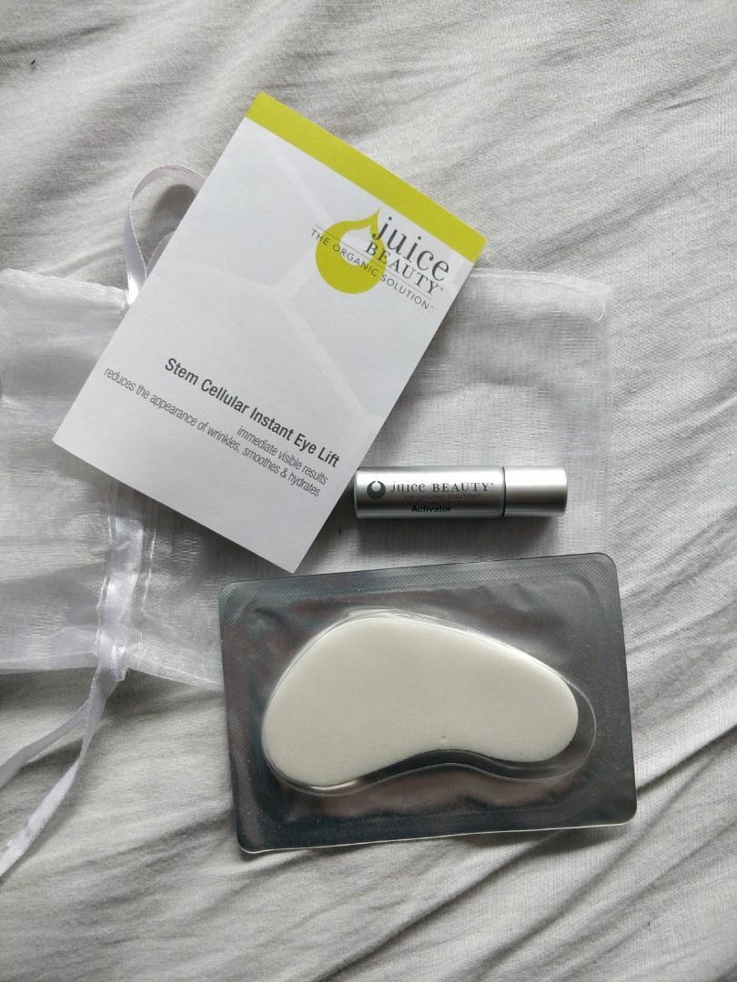 Brand New Juice Beauty Eye Lift Mask